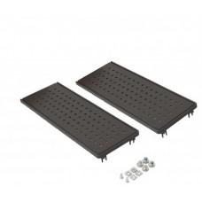 ES200 Торцевые крышки (2шт.) H-100мм, пласт.черные